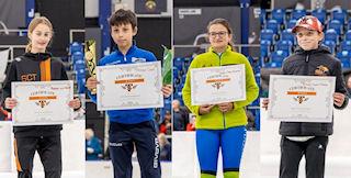 winners of the Skate-Tec Nagano blades photo: Ronald Goud